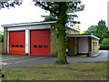 TL5124 : Stansted Mountfitchet fire station by Thomas Nugent