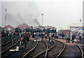 NZ2325 : General view of the old coal sidings at Shildon by John Firth