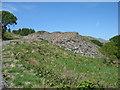 SH5144 : Spoil tip near Hendre-ddu quarry by David Purchase