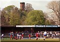 SJ4912 : The visitors end at the Gay Meadow by Steve Daniels