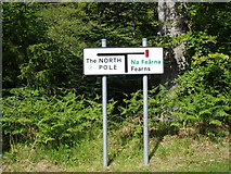 NG5536 : Unusual road sign by Douglas Nelson