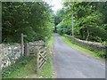NU2214 : Drive to Dunsheugh Farm by Michael Dibb