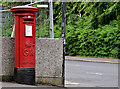 J3170 : Pillar box, Belfast by Albert Bridge