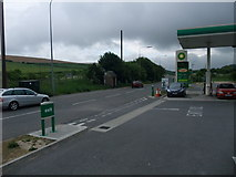 TQ2912 : Petrol station at the southern end of Pyecombe by Tim Heaton
