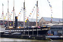 ST5772 : Brunel's SS Great Britain by Steve Daniels