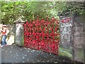 SJ4187 : Gates at Strawberry Field by Stephen Sweeney
