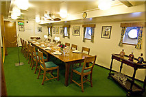 NT2677 : Royal Yacht Britannia, dining room by Alan Findlay