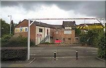 SJ9495 : Back of shops by Gerald England