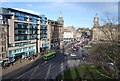 NT2573 : View from The Scott Monument - Princes St by N Chadwick
