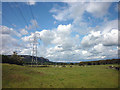 SD4482 : Power pylons beside the A590 by Karl and Ali