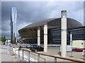 ST1974 : Wales Millennium Centre by Rudi Winter