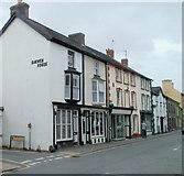 SN7634 : Corner of Garden Lane and Stone Street, Llandovery by Jaggery