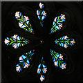 NZ3769 : Rose Window, Tynemouth Priory Chapel by David Dixon