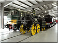NZ2325 : Inside the Main Hall at Locomotion by David Dixon