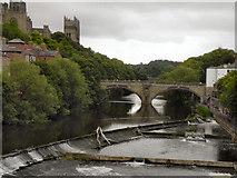 NZ2742 : River Wear, Durham by David Dixon