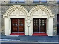 NZ2364 : Westgate Hall, entrance on Corporation Street by Andrew Curtis
