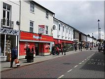 TM0458 : Ipswich Street, Stowmarket by Roger Cornfoot