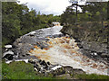 NY9027 : River Tees, Low Force Waterfalls by David Dixon