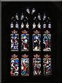 NZ0516 : St Mary's Parish Church, Stained Glass Window by David Dixon