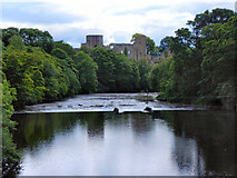 NZ0416 : Barnard Castle and the River Tees by David Dixon