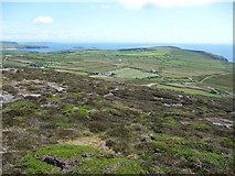 SH1325 : Part of the Lleyn Peninsula from Mynydd Mawr by Jeremy Bolwell