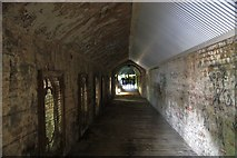 "SO7845 : Inside the ""Worm"", Great Malvern Station by Bob Embleton"