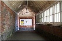 SO7845 : Exit ramp, Great Malvern Railway Station by Bob Embleton