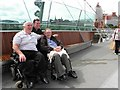 C4316 : Peace bridge, Derry / Londonderry (18) by Kenneth  Allen