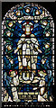 TQ5130 : All Saints, Crowborough - Stained glass window by John Salmon
