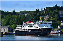 NM8529 : Ferry leaving Oban by The Carlisle Kid