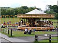 NZ2154 : Fairground, Beamish Museum by Andrew Curtis