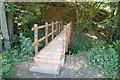 TQ6915 : New Footbridge over Ash Bourne by Julian P Guffogg