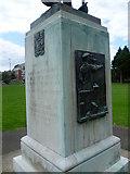 TQ1672 : Detail of Twickenham War Memorial by Marathon