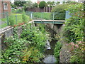 ST6673 : Warmley: Siston or Warmley Brook by Nigel Cox
