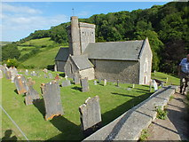 SY1988 : St Winifred's Church, Branscombe by Raymond Cubberley