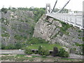 ST5673 : Clifton Suspension Bridge & the A4 Portway by Nigel Cox