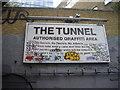 TQ3079 : Sign The Tunnel, Leake Street London by PAUL FARMER