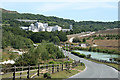 SX5660 : Shaugh Prior: nearing Lee Moor China Clay Works by Martin Bodman
