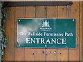 SE3244 : Entrance to Wall Side Plantation by Pauline E