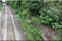 SO7845 : The line  to Malvern Link by Bob Embleton