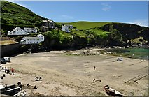 SW9980 : Port Isaac : Beach & Harbour by Lewis Clarke