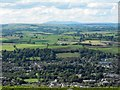 SO1189 : View NW from the ridge above Newtown by Penny Mayes