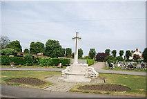 TQ2673 : Wandsworth Cemetery War Memorial by N Chadwick