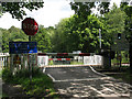 TQ5335 : Level crossing at Forge Farm by Stephen Craven
