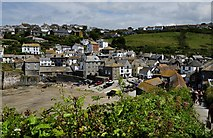 SW9980 : Port Isaac : Harbour and Village Scene by Lewis Clarke
