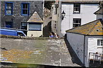 SW9980 : Port Isaac : Looking across the Village by Lewis Clarke