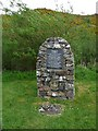 NC1544 : Memorial Cairn, Scourie by Robin Drayton