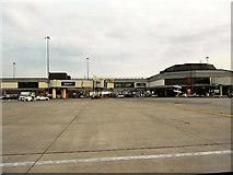 SJ8184 : Manchester Airport Terminal 1 by David Dixon