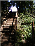 TG0723 : Steps to Forwater Road by Adrian Cable