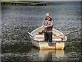 H8061 : Angling, Dungannon Lake by Kenneth  Allen